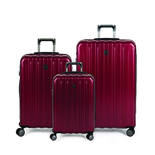delsey-luggage-titanium-expandable-hardside-19x25x29-inches-luggage-set-cherry-red