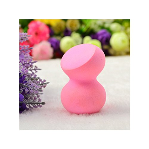 Born Pretty 1 Pc Houppette A Poudre Eponge A Fond De Teint Rose Expansion Avec l'Eau
