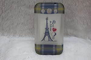 Eiffel Tower Silicone Back Case Cover For Samsung Galaxy Win I8552