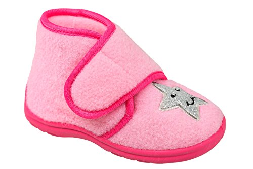 gibra , Chaussons pour fille Rose