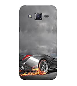 Doyen Creations Printed Back Cover For Samsung Galaxy J3