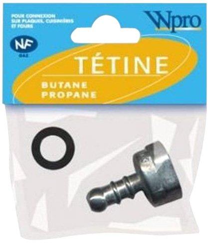 Wpro TPB001 Tétine Gaz Butane pour Appareil de Cuisson