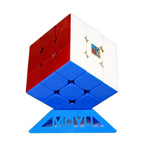 oShi MF3RS3 3x3x3 Magic Cube Cubing Klassenzimmer MF3 RS3 V3 3X3 Geschwindigkeits-Würfel-Puzzle mit Einem Cube-Stativ (Stickerless) ()