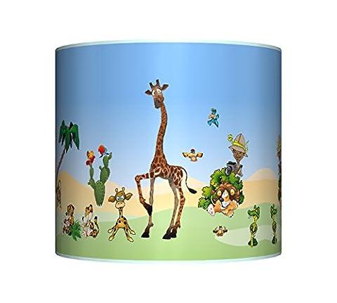 JUNGLE / ZOO / SAFARI ANIMALS CEILING LAMPSHADE - 10