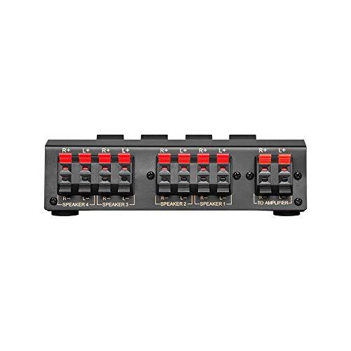 goobay avs  Goobay AVS 12-4 4-way speaker switch box cavo di interfaccia e ...