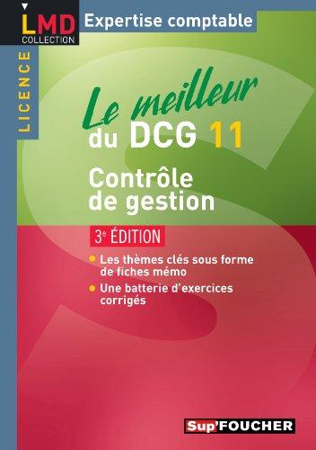Le meilleur du DCG 11 Contrôle de gestion 3e édition