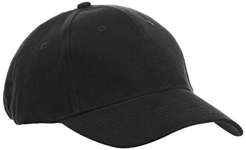 Anvil 136 - Gorra de béisbol para hombre, color negro (bla black), ta
