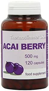 Thermoslimmer 500mg Acai Berry - Pack of 120 Capsules