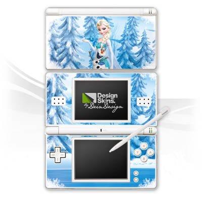 DeinDesign Nintendo DS Lite Folie Skin Sticker aus Vinyl-Folie Aufkleber Disney Frozen ELSA & Olaf Geschenke Merchandise