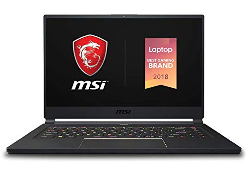 "MSI GS65 Stealth 005 Business i7 8750H - MSI GS65 Stealth-005 Premium Gaming and Business Laptop (Intel 8th Gen i7-8750H 6-Core, 16GB RAM, 4TB PCIe SSD, 15.6"" Full HD 1920 x 1080 144Hz Thin Bazel, NVIDIA GeForce RTX 2080 8G, Win 10 Pro)"