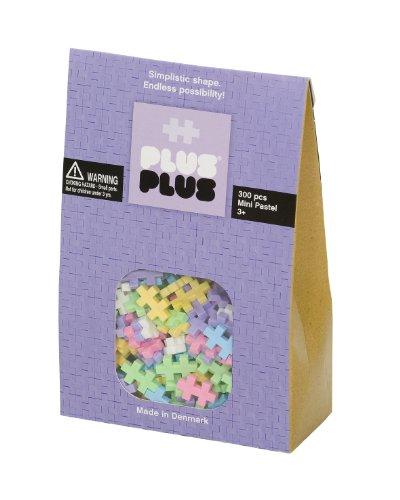 Plus-Plus - 52125 - Jeu éducatif de construction  - Mini Pastel - 300 Pièces