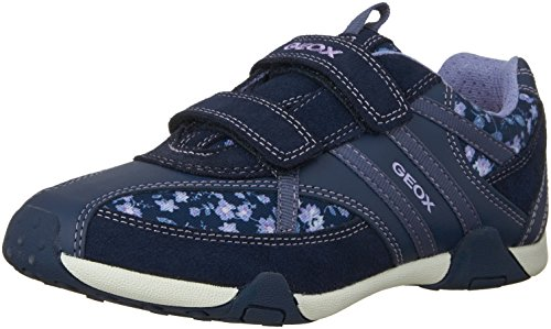 Geox Jr Tale B Mädchen Low-Top Blau (NAVY/LILACC4215)
