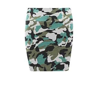 Mim - Jupe tube camouflage - Femme - M - KAKI FC