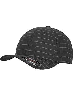 Flexfit Mütze Flexfit Square Check Cap - Gorro, unisex, color darkgrey/grey, talla L/XL