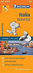 Italy Northeast - Michelin Regional Map 562 (Michelin Regional Maps)
