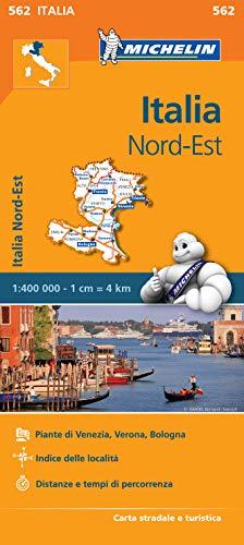 Mapa Regional Italia Nord Est Carte regionali