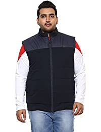 JOHN PRIDE Men Blue Coloured Jacket (Sizes: 3XL- 6XL)