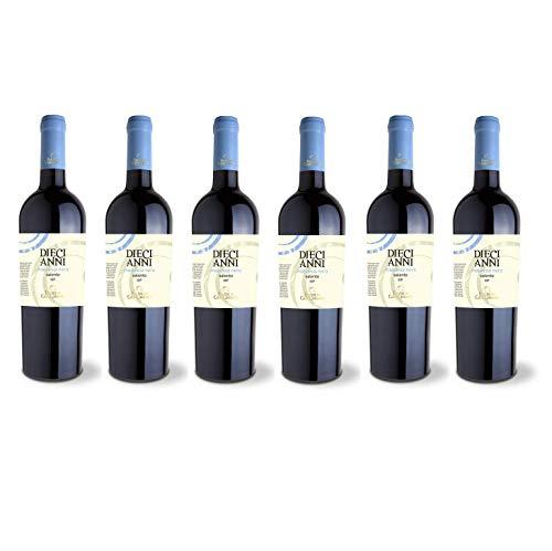 Vino Rosso Malvasia Nera 10 Anni| 2016 | Feudi Di Guagnano - 6 Bottiglie