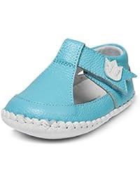 Little Blue Lamb–Zapatos para bebé unidad lernschuhe Zapatillas Sandalias 35616turquesa azul