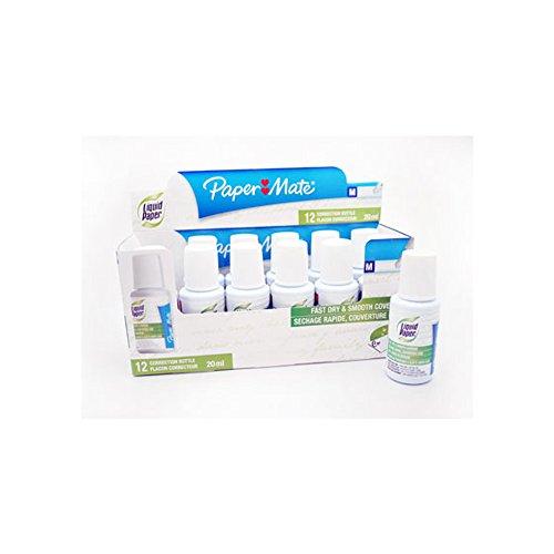 papermate-liquid-paper-correttore-liquido-tipex-x-12-vasi