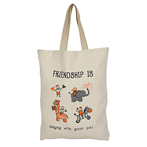 Cotton Canvas multiuso shopping bag con Graphic - romantiche idee regalo per lei