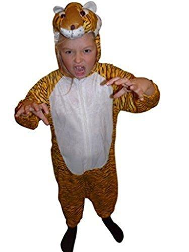 Gr. 104-110, für Kinder, Tiger-Kostüme für Fasching Karneval Fasnacht, Kleinkinder-Karnevalskostüme, Kinder-Faschingskostüme,Geburtstags-Geschenk Weihnachts-Geschenk ()