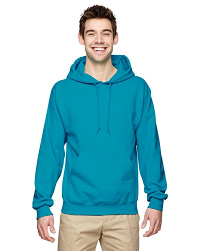 Wei§er Fu§ball auf American Apparel Fine Jersey Shirt Blau - California Blue
