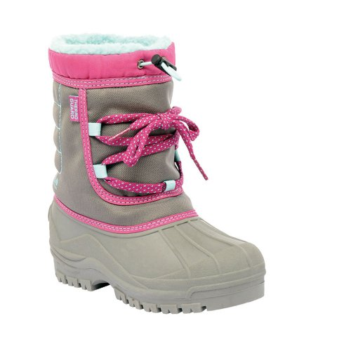 Regatta Kids Trekforce Junior Fleece Lined Winter Boots DkStee/VivVi DkStee/VivVi