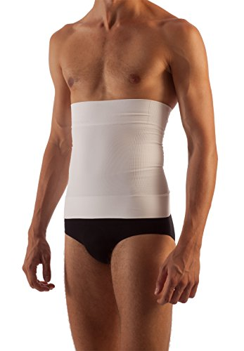 FarmaCell Man 405 (Blanco, M) Faja Elástica moldeadora y de contencion para hombres