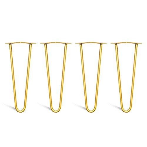 4x Hairpin-Tischbeine –von 10 cm bis 71 cm für Kaffeetisch, gebraucht kaufen  Wird an jeden Ort in Deutschland