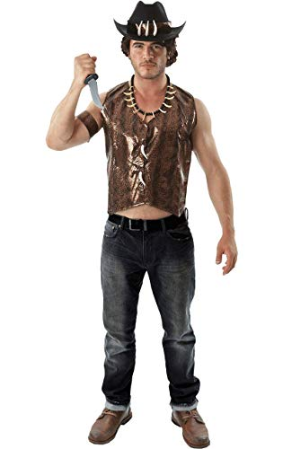 Authentische Jäger Kostüm - ORION COSTUMES Adult Crocodile Hunter