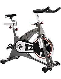 GZMUK - Health & Personal Care Bicicleta de Ejercicios Gimnasio en casa Estacionario Ciclismo 20kg Formación del Volante Fitness Cardio Entrenamiento Ideal AB Entrenador Equipo de Spin Bike
