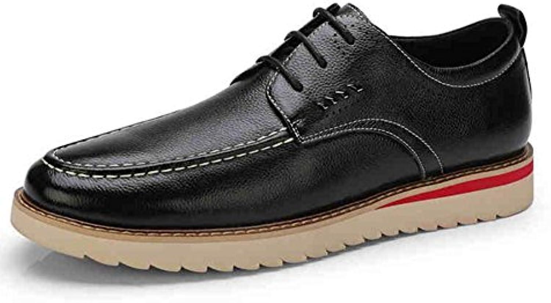 Unbekannt YIXINY Schuhe Sneaker Casual Herrenmode Bequeme Schuhe Kuumlnstliche Kunstleder Britischen Stil Fruumlhling