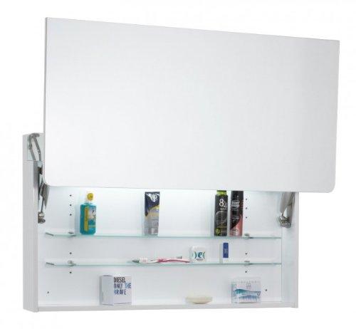 Spiegelschrank Eintürig – Badezimmerschrank von Galdem 100 cm - 2