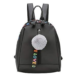 Mini Bolsos Mochilas Mujer Casual Mochila Viento de Colegio Bandolera de cuero multifunción Bolsa de Moda Paquete de Viaje y Ocio para Mujeres y Chicas Diario Messenger Bag Backpack