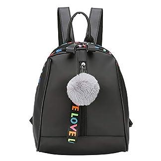 41nUOxywMrL. SS324  - Mini Bolsos Mochilas Mujer Casual Mochila Viento de Colegio Bandolera de cuero multifunción Bolsa de Moda Paquete de Viaje y Ocio para Mujeres y Chicas Diario Messenger Bag Backpack