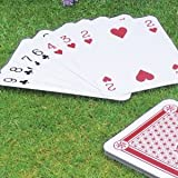 GIANT PLAYING CARDS - FAMILY FUN GAMES SCHOOLS NURSERY CORPORATE