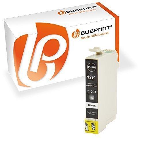 Bubprint Druckerpatrone kompatibel für Epson T1291 T 1291 Stylus SX435w SX 435 w SX420w SX 420w SX 445w WorkForce 630 WF 7515 3520 WF-7015 schwarz