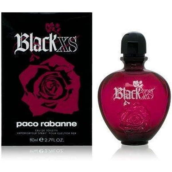Paco Rabanne Black XS for her femme woman, Eau de Toilette