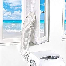 AirLock 4m Joint de Fenêtre pour Climatisation Mobiles et Déshumidificateurs Pour et Déshumidificateurs Kit de calfeutrage