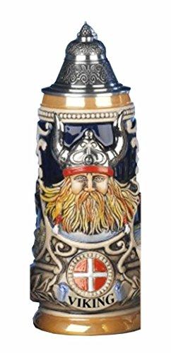 Jarra de cerveza alemana vikingo, jarra 0,5 litros KI 303-V 0,5L