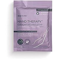 BeautyPro - Guantes Hand Therapy con impregnación de colágeno con puntas de dedo extraíbles