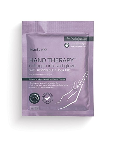 BeautyPro HAND THERAPY Collagen Infused Glove With