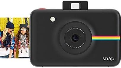 Polaroid Snap POLSP01B 10 MP Instant Digital Camera with Zero Ink Printing Technology (Black)