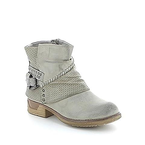 Low Boots Zip Arriere - Low-boots à motifs