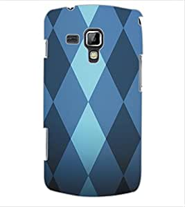 ColourCraft Pattern Design Back Case Cover for SAMSUNG GALAXY S DUOS S7562