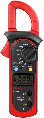 Preisvergleich Produktbild Uni-Trend UT202A Auto-ranging AC 600 Amp Clamp Meter