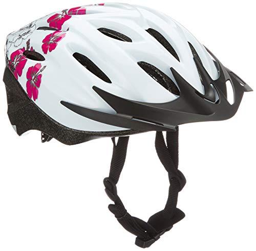Fischer Fahrradhelm Hawaii, Weiß, S, 86138