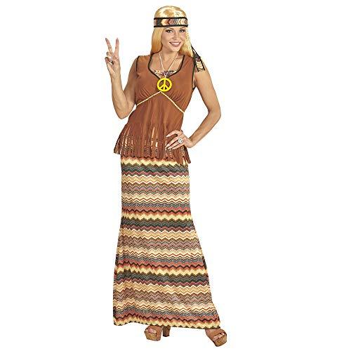 Widmann 06530 Erwachsenenkostüm Hippie Woman, XXL