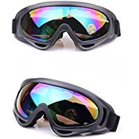 Manfâ Bike Motorcycle Goggles Motocross Wind Dust Protection Goggles Snow Goggles Ski Snowboard Goggles Winter Sport